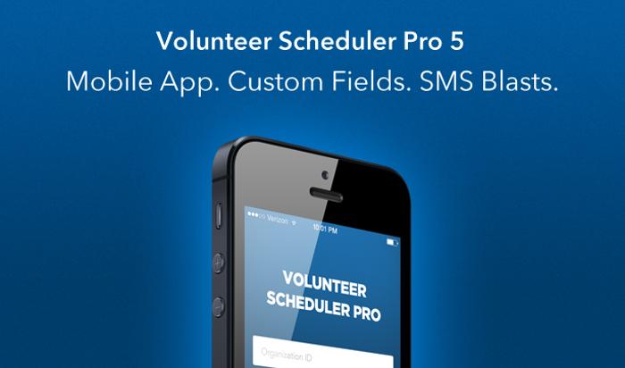 Volunteer Scheduling System | LiveCode