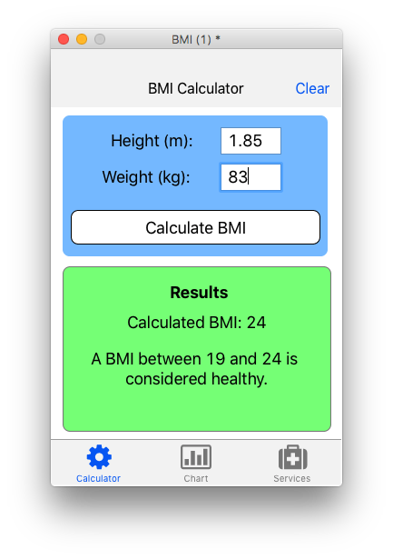 Extending The Interactive Welcome Bmi App With Healthkit Livecode